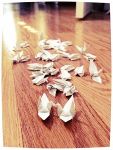 A Thousand Cranes Wedding