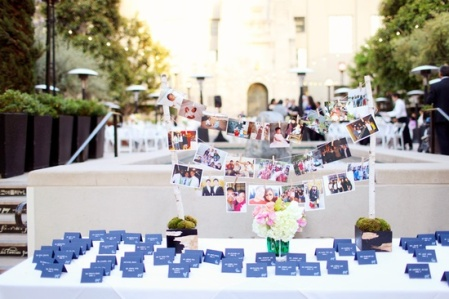 escort table display